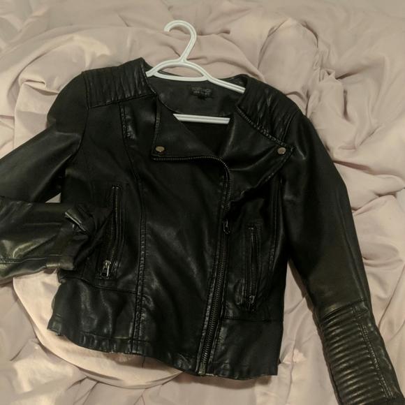 Topshop Jackets & Blazers - Leather jacket top shop